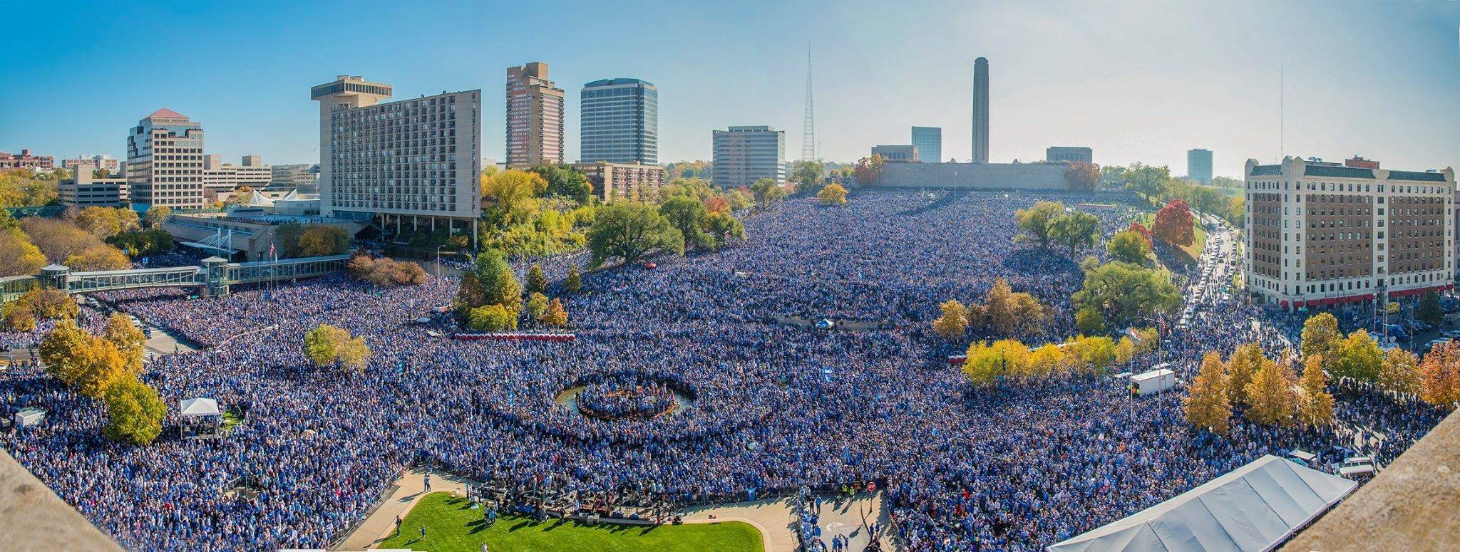 Kansas City Royals 2015 World Series Parade